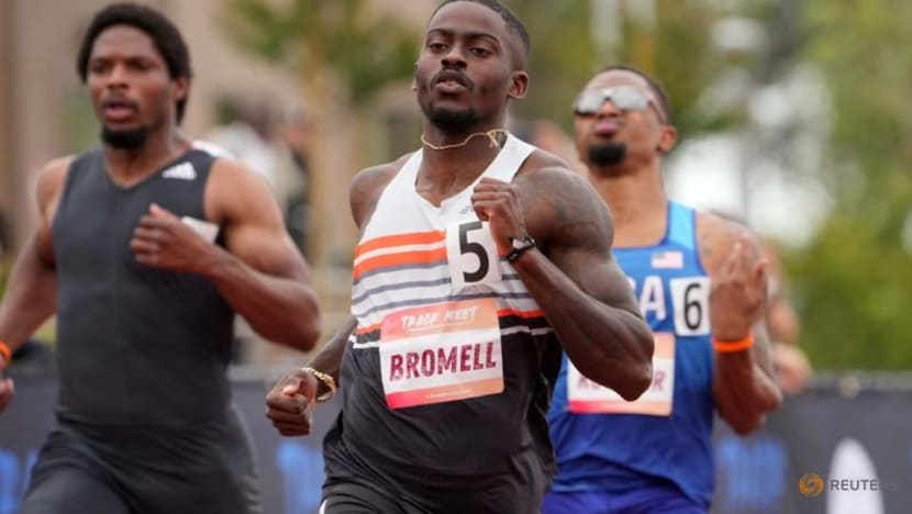 Olympics-Athletics-Bromell poised for gold, says 'Fastest Man' author