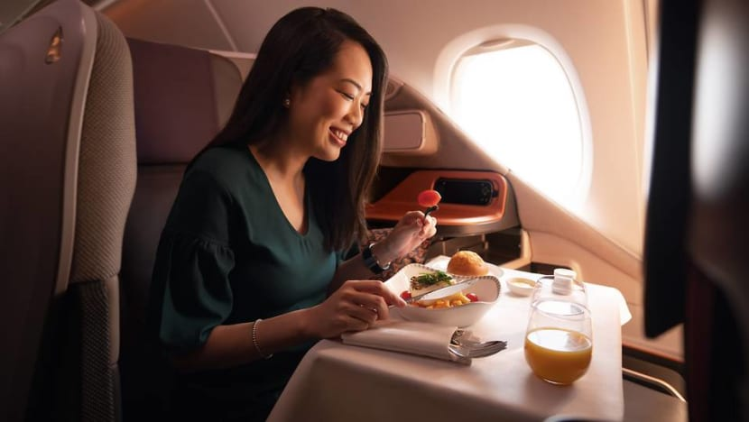Commentary: More than S$600 for first class meals? SIA isn't for everyone but that's just fine