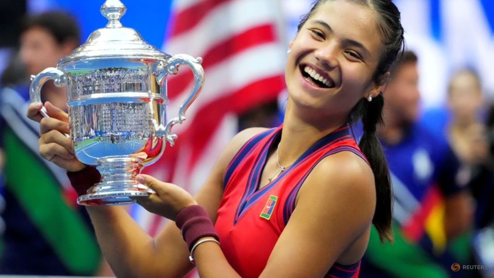 Raducanu's US Open outfit to be displayed at Hall of Fame