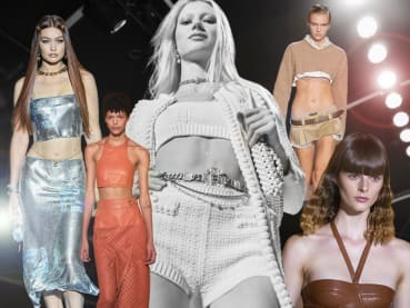 Sexy clothes are back in fashion – but are we ready to show some skin again?