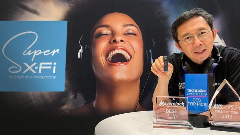 CES 2019: Creative Technology's award streak continues as CEO previews new Super X-Fi plans