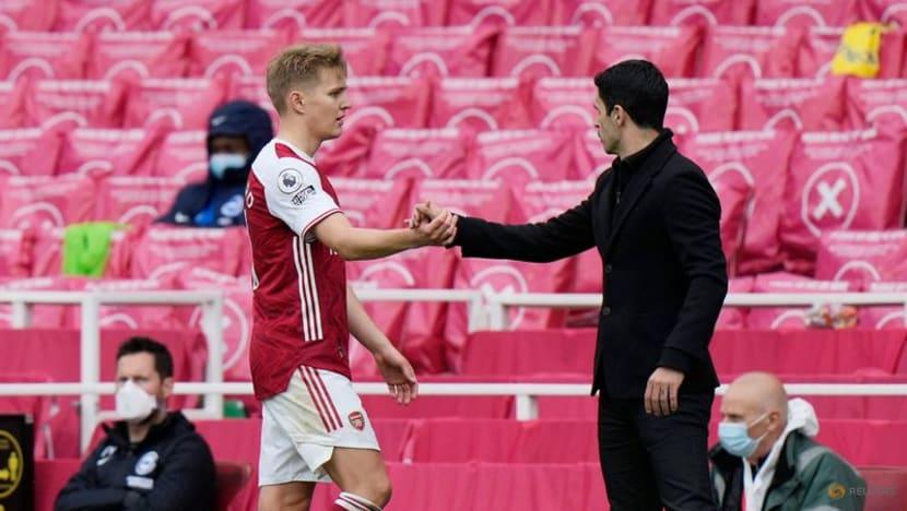 Soccer-Arsenal move gives precocious Odegaard platform to shine