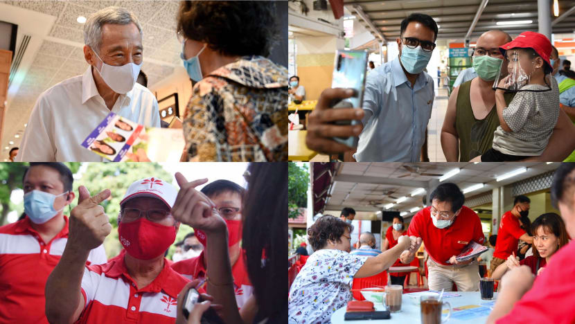 In pictures: GE2020 campaign trail amid the COVID-19 outbreak