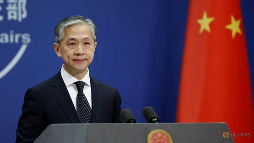 China says US sanctions on officials over Hong Kong's security clampdown violate international laws