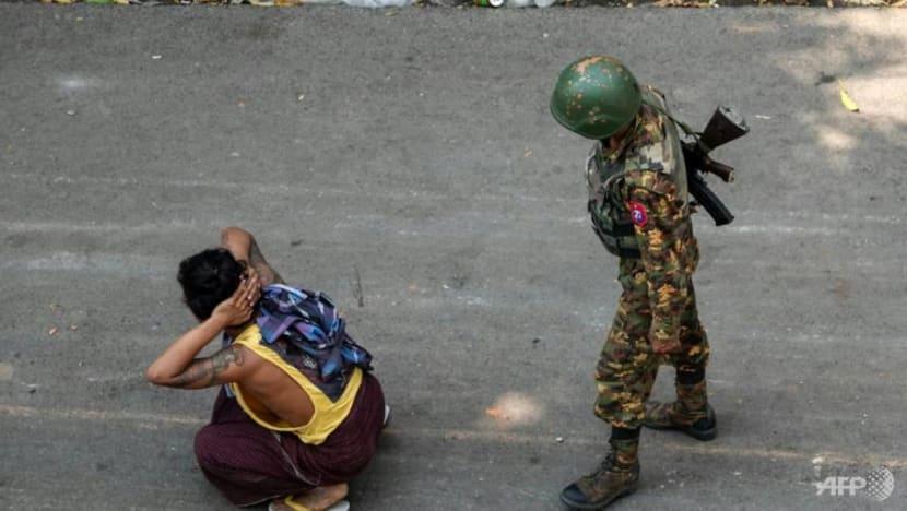Rights group condemns Myanmar death sentences