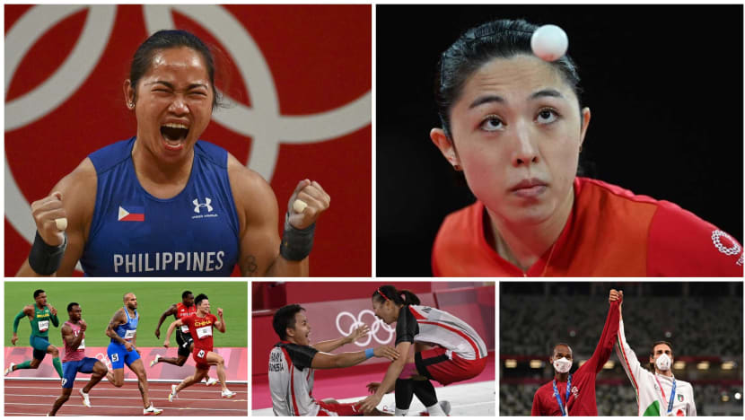 In photos: Asia's athletes at the Tokyo Olympics
