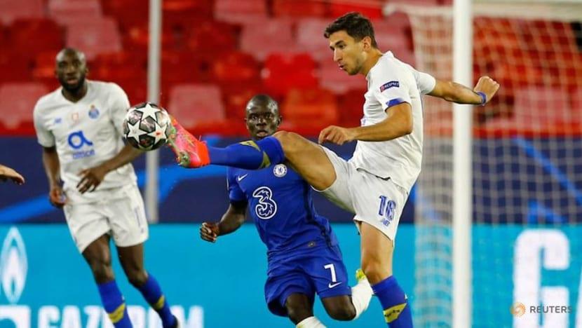 Football: Chelsea see off Porto to reach semis despite Taremi stunner