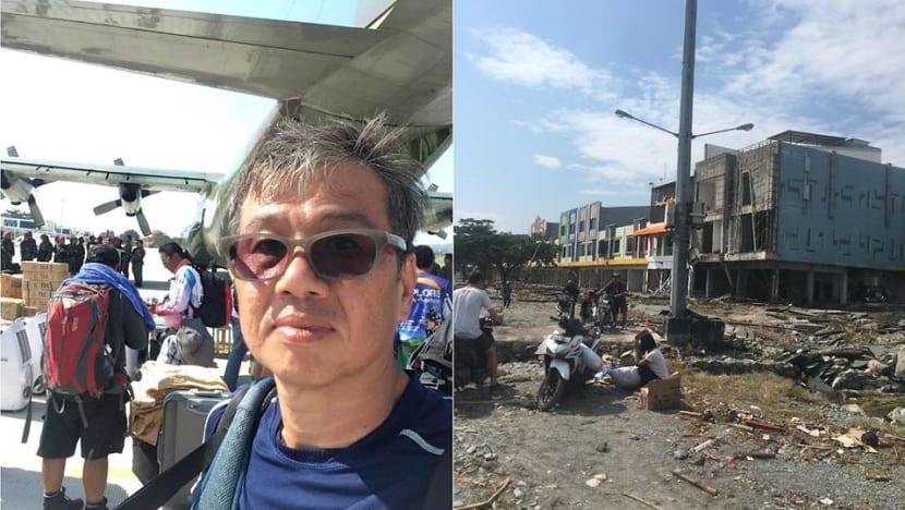 Narrow escape: The Singaporean man who survived the Indonesia quake-tsunami