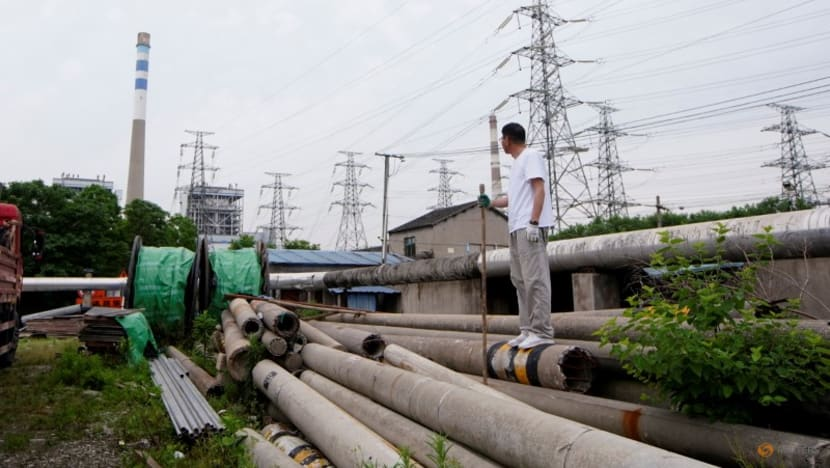 China's July power consumption up 12.8per cent on year