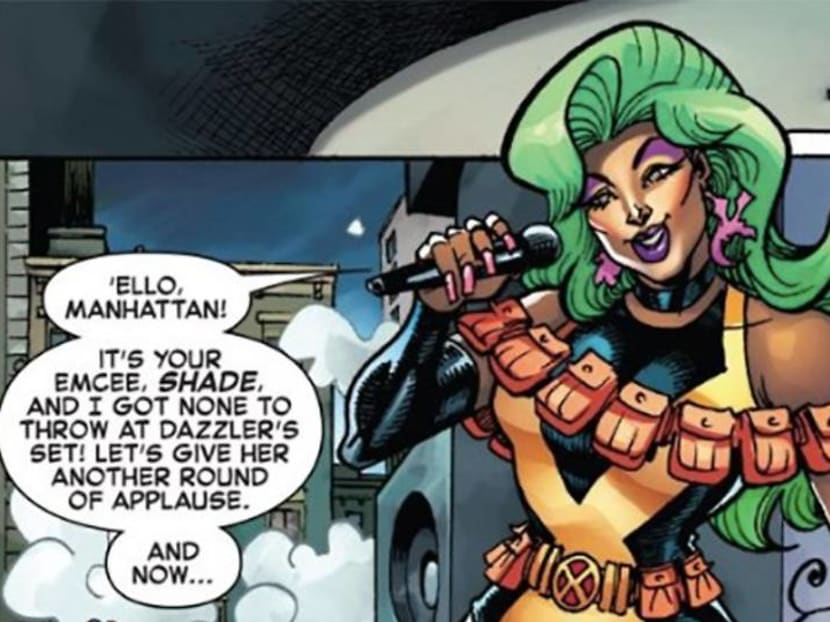 Marvel Comics' newest mutant is a drag queen with a folding fan