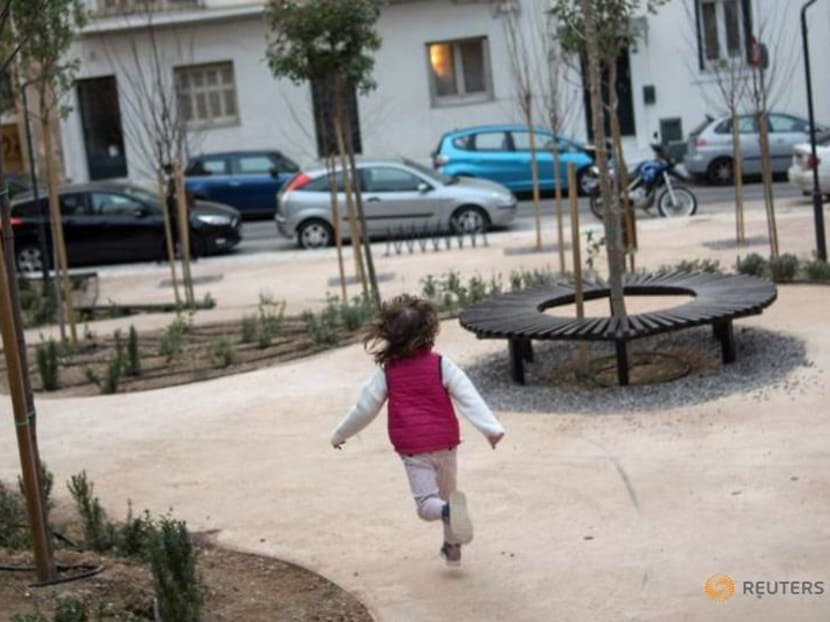 Athens tackles heat and pollution with pocket-sized parks