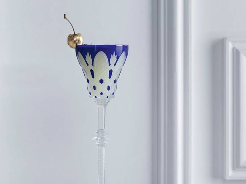 Why does this cocktail at the Baccarat Hotel New York cost S$7,000?
