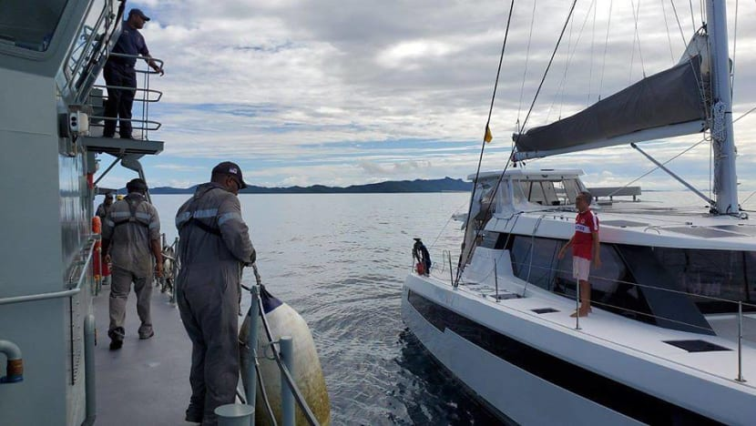 Stranded Singaporean sailor rescued at sea by Fijian navy after Pacific countries shut borders due to COVID-19