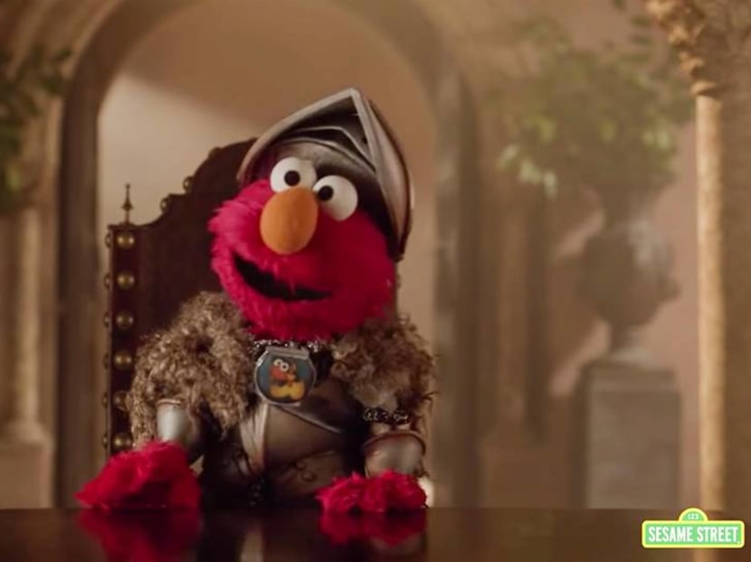 Respect is coming: Elmo brings peace to the Lannisters in Game Of Thrones video