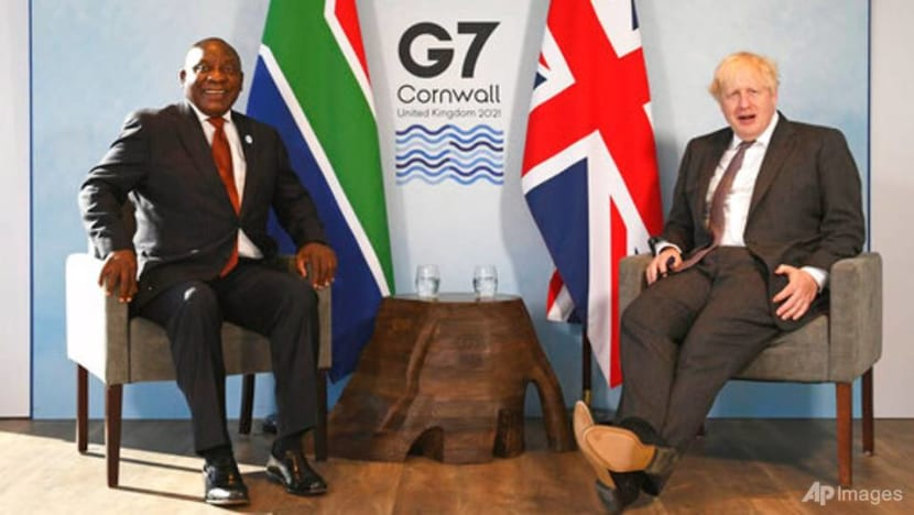 South Africa's President Ramaphosa urges G7 nations to plug COVID-19 funding gap