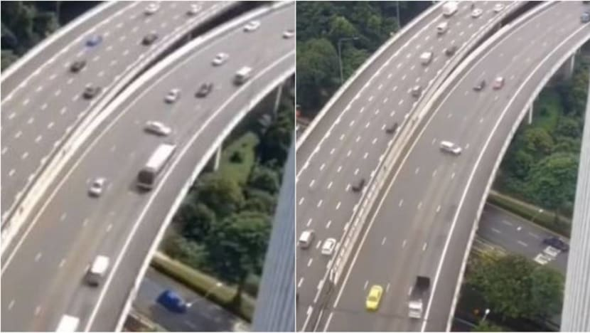 LTA to add safety features, resurface road along PIE near Upper Bukit Timah after skidding accidents