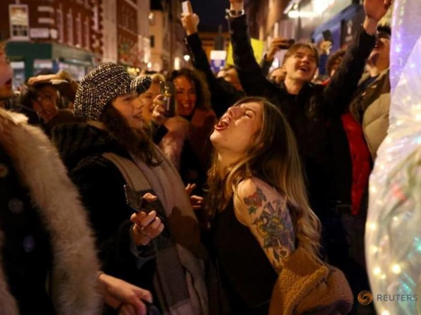 Londoners party on eve of tougher COVID restrictions