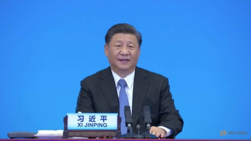 China's Xi takes dig at US in speech to political parties around world