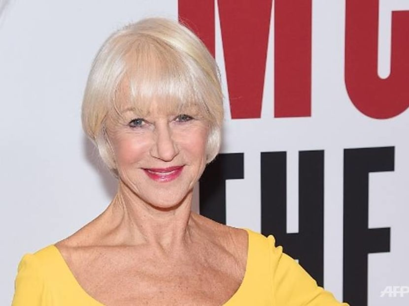 Helen Mirren is not dating Keanu Reeves but she finds the notion 'very flattering'