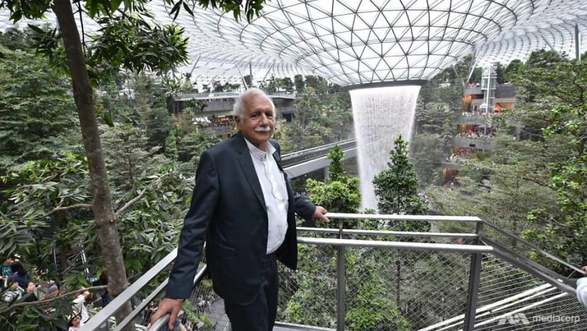 Creating a 'mythical garden' was inspiration behind Jewel Changi Airport: Architect Moshe Safdie