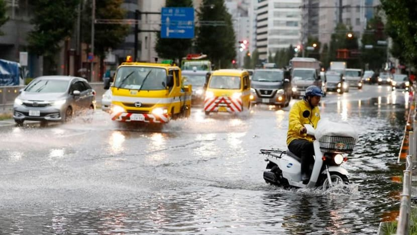 One dead after powerful typhoon Faxai hits Tokyo; power and transport disrupted