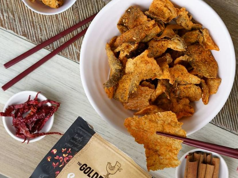 Beyond salted egg: What local chips did Golden Duck develop but never put out?