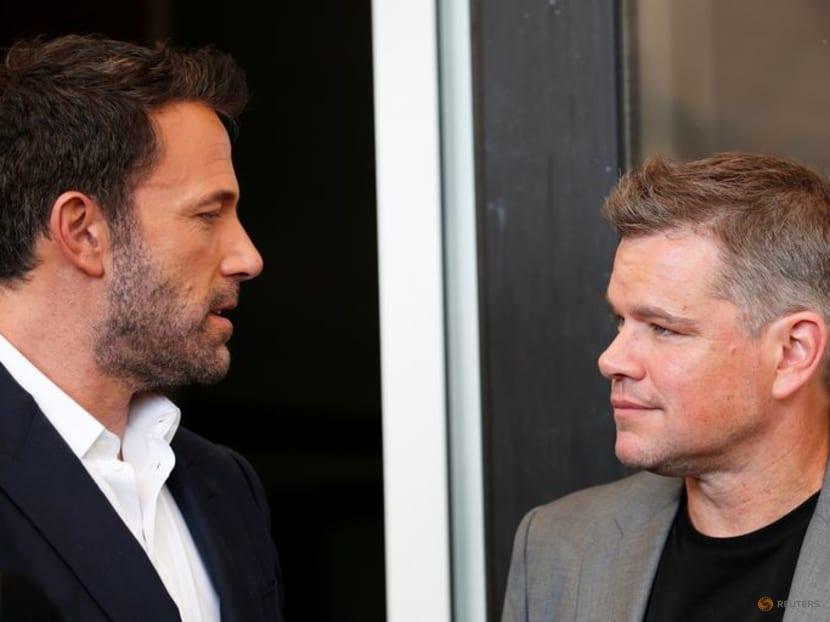 Catch Ben Affleck and Matt Damon in their movie The Last Duel