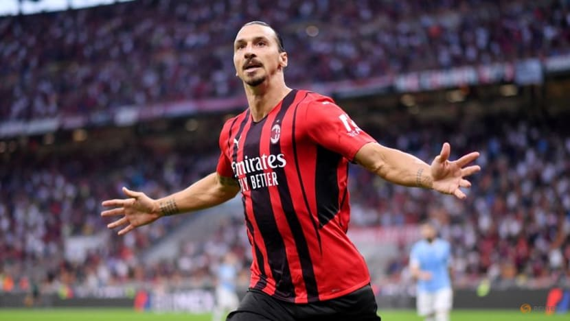 Football: Milan's Ibrahimovic back with a goal in win over Lazio
