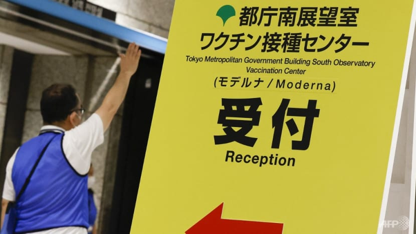 Japan stops use of 1.63 million Moderna COVID-19 vaccine doses due to contamination