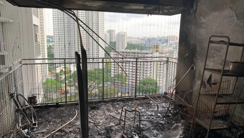 About 300 Toa Payoh residents evacuated after fire breaks out at HDB flat, 3 taken to hospital