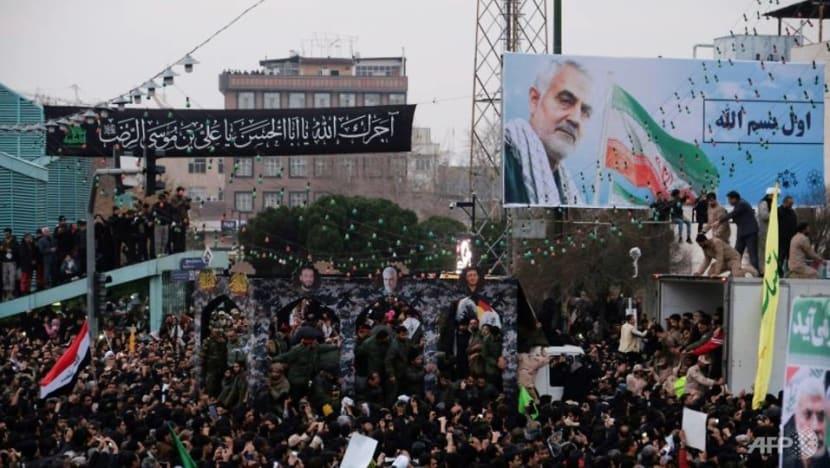 Trump warns Iran of 'major retaliation,' threatens sanctions on Iraq