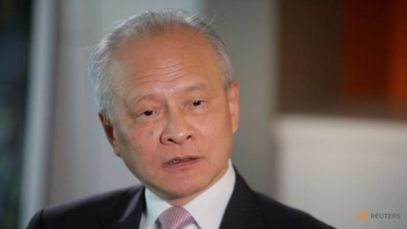 China's US envoy says US-China relations must be put on right track