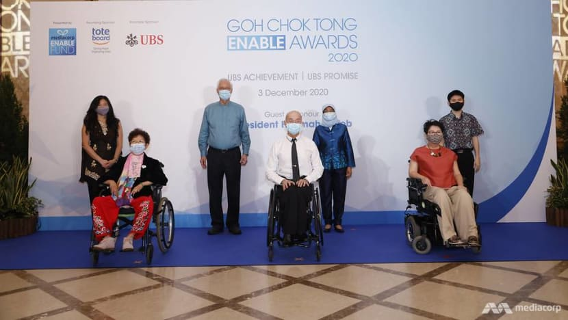 Nominations open for third edition of Goh Chok Tong Enable Awards