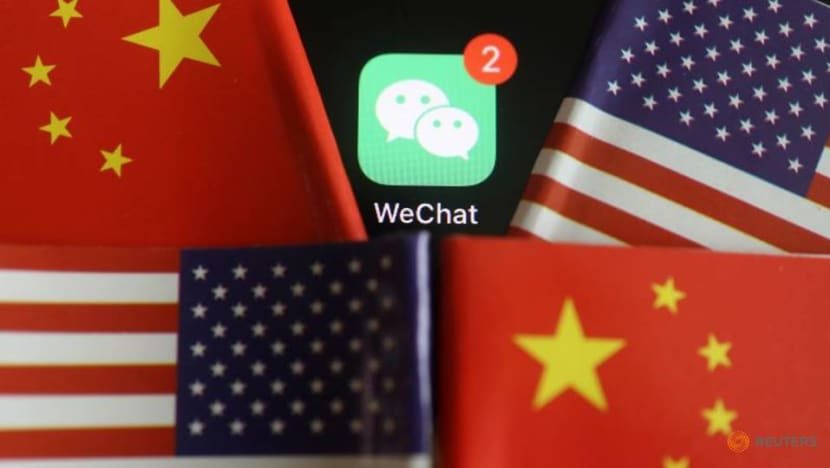 Chinese tech giant Tencent's WeChat app sees downloads surge before US ban