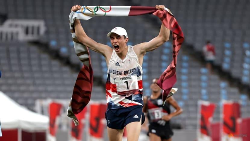 Olympics-Modern Pentathlon-Choong tops podium to earn Britain golden sweep