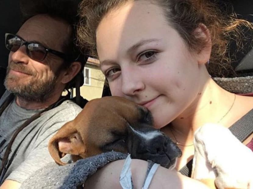 Luke Perry's daughter misses her late father, thanks fans for support