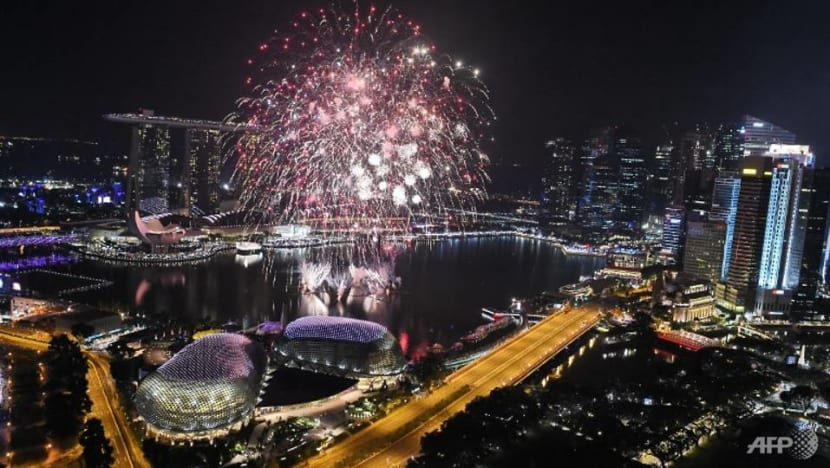 Hour-long show with fireworks for Marina Bay Singapore Countdown 2019
