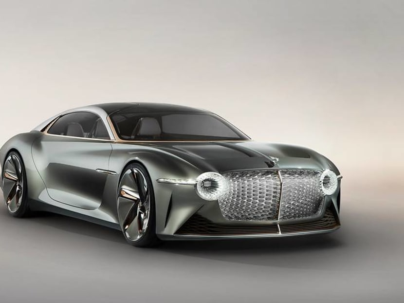 The Bentley EXP 100 GT is what the future of sustainable motoring looks like