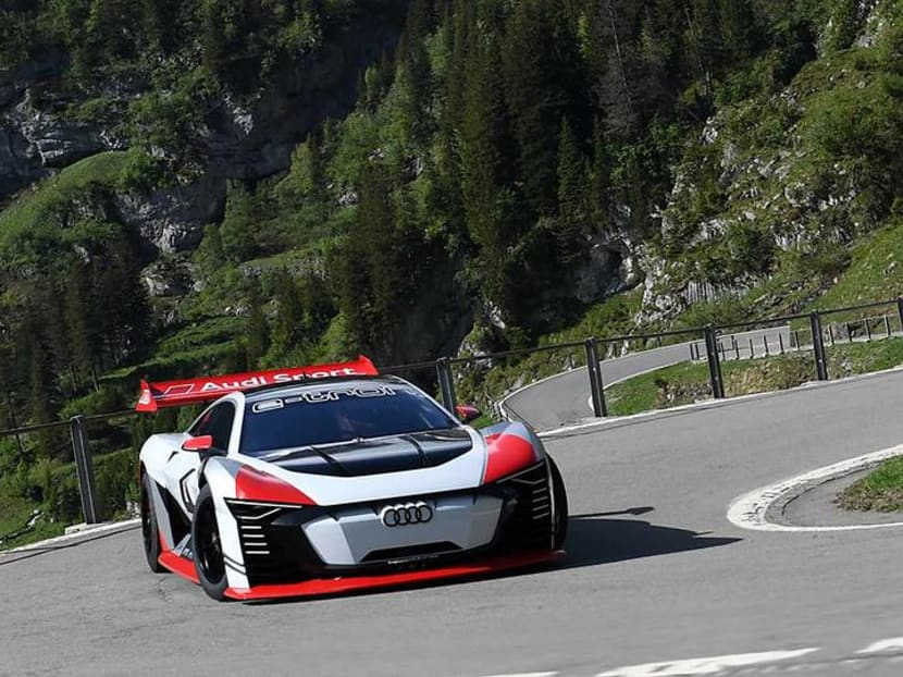 A Gran Turismo ride and the future of cars at Audi Brand Experience Singapore 2018