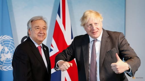 'Alarm bell' rings as UN chief, UK PM convene leaders on climate change