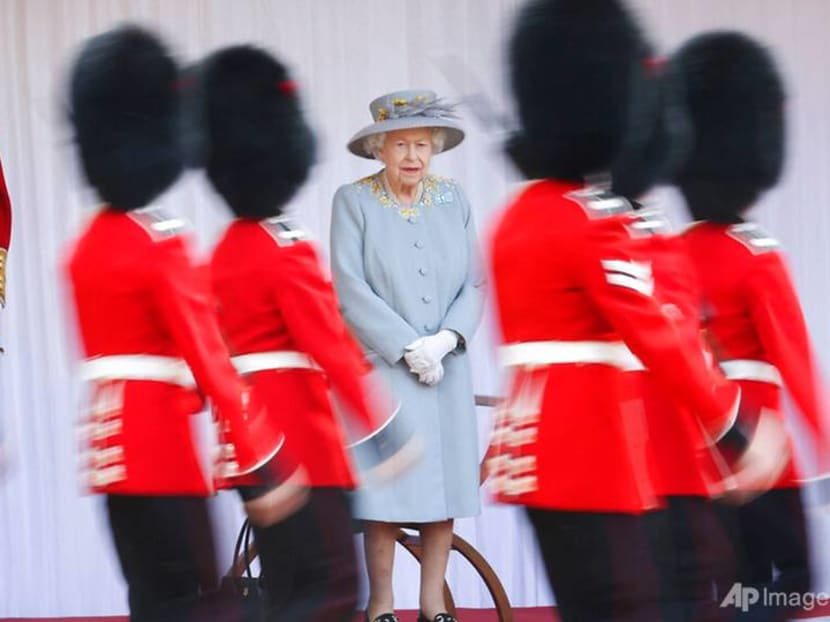 Queen Elizabeth marks official 95th birthday with a military parade