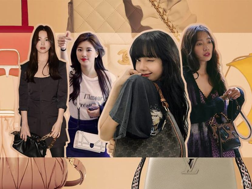 Latest fashion trend: Korean celebs are swapping micro bags for something bigger