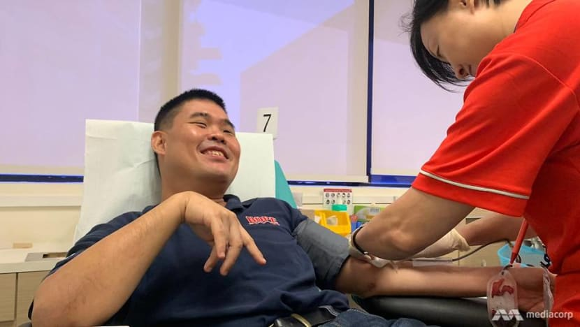 'I'm not scared': Intellectual disability no impediment as 'accomplished' blood donor nears 70th donation