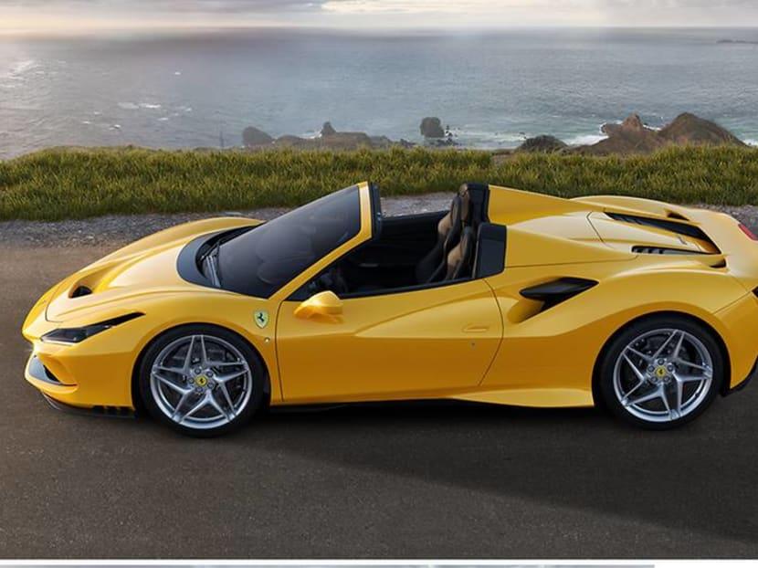 What it's like driving a S$1.1m, 720hp, open-top dream machine: The Ferrari F8 Spider