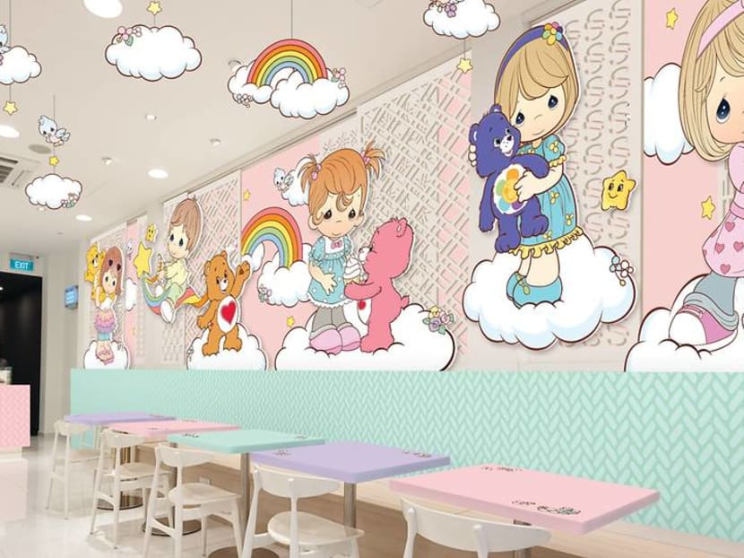 Cute cuisine: Say hello to the Care Bears and Precious Moments pop-up cafe