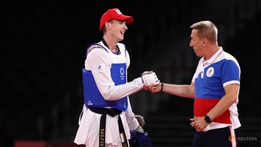 Olympics-Taekwondo-Russian Khramtcov wins men's -80kg gold medal