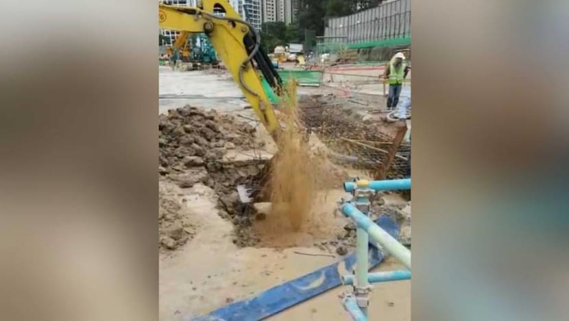 Construction company fined S$42,000 for damaging water main while drilling