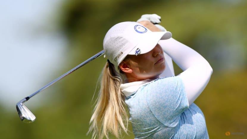 Golf-Team Europe picks three rookies in Solheim title defence