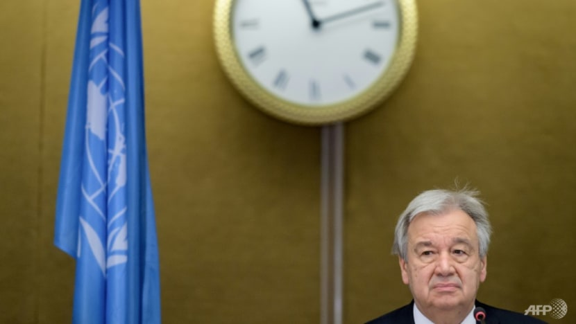 UN chief calls for action on COVID-19, climate