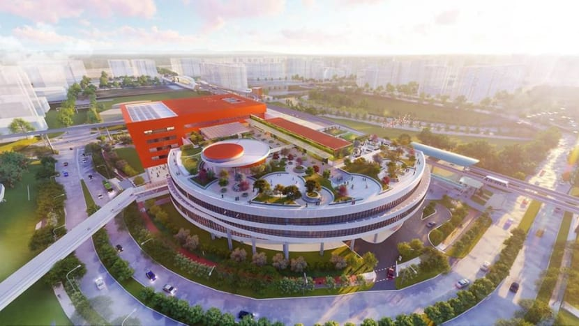 New Punggol Town Hub to open in 2021 with hawker centre and library